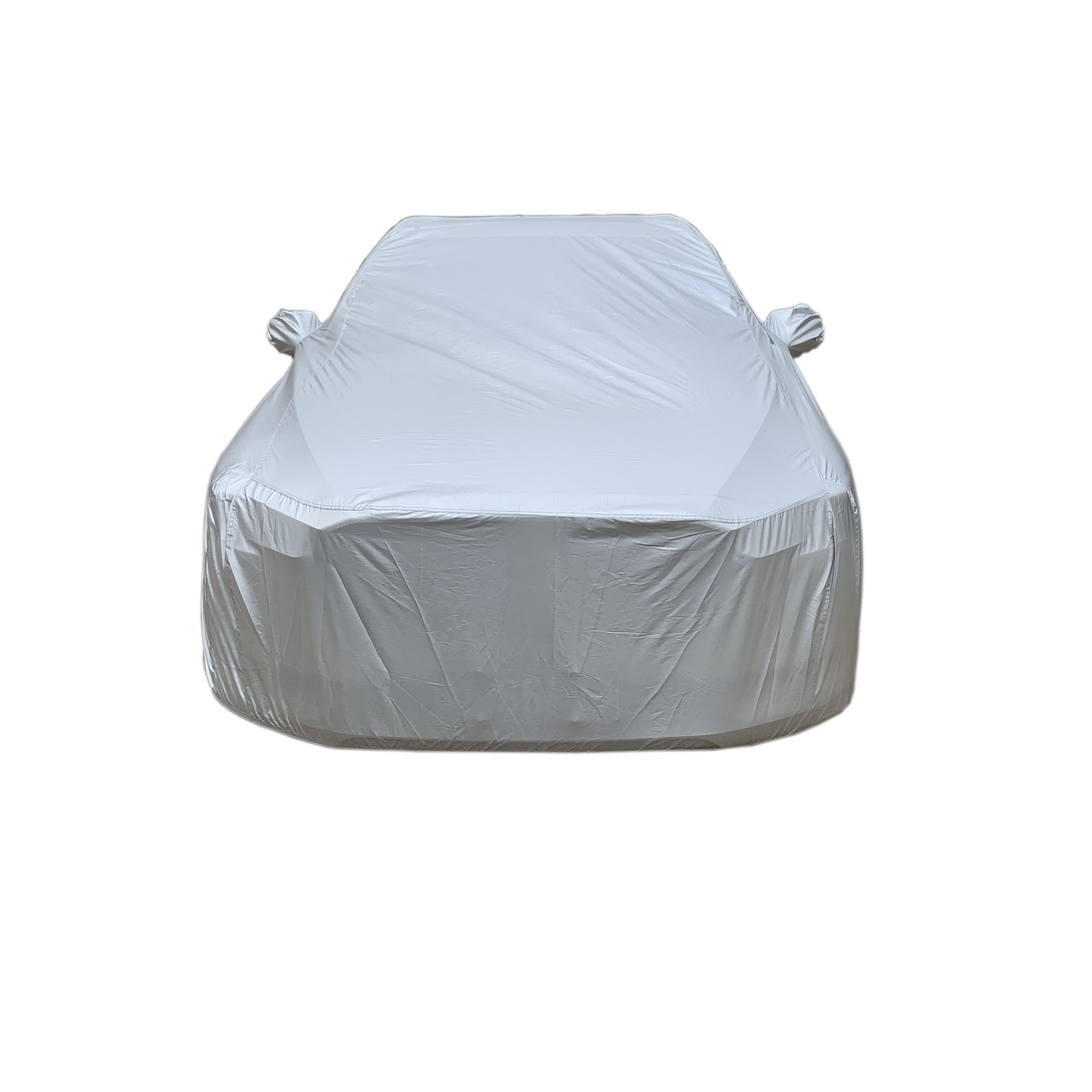 190T silver car cover